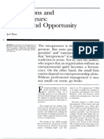 PARADOX AND OPPORTUNITIES