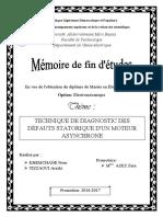 Technique de diagnostic de  défauts statorique d'un moteu   asynchrone.pdf