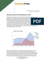 Oil Sands Producers Cut C02