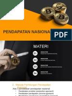 materi pendapatan nasional