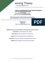 Alexander2005-Institutional Transformation Plg