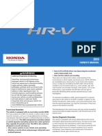 Honda HRV-MANUAL1