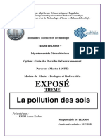 Pollution Des Sols
