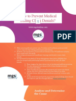 How to Prevent Medical Billing Claim Denials?