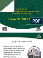 16 - UDABOL - METODOLOGIA DE LA INVESTIGACION - ANALISIS FODA O DOFA