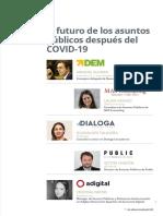 El Futuro de los Asuntos Públicos después del COVID-19 con Laura Casado