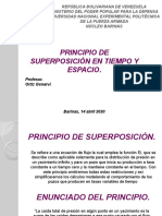 PRINCIPIO DE SUPERPOSICIÓN.
