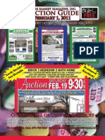 February 1 2011 Auction Guide