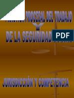 A. PROCESAL LABORAL JURISDICCION Y COMPETENCIA.ppt