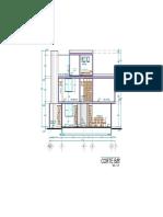 3.- Casa habitacion 10.5 x 12 M-Modelo corte BB