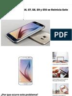 Samsung Galaxy S6, S7, S8, S9 y S10 se Reinicia Solo [Solución] _ Mira Cómo Hacerlo