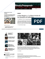 CODEX MAGICA 4 - LA MANO OCULTA DE LOS HOMBRES DE JAHBULON