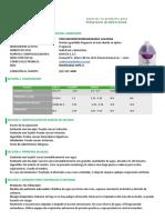 Hoja de Seguridad Ambientador Biodegradable Lavanda GLN