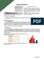5°Sec(6 agosto) Teoría - Actividad Nº 14 - Gráficos estadísticos II