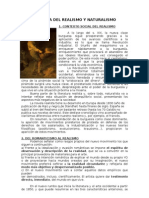 APROXIMACIÓN A LA LITERATURA DEL REALISMO Y NATURALISMO
