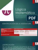 Presentación 1 - Matemáticas I (Lógica Matemática) 6-08-2020