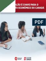 Imigração é Chave para o Crescimento Econômico do Canadá