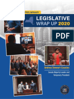 2020 NYS Senate Preliminary Legislative Wrap Up