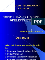 Topic 1 Basic Concepts of Electricity.ppt