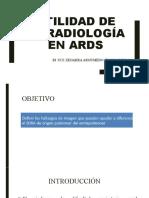 Utilidad de la radiología en ards.pptx