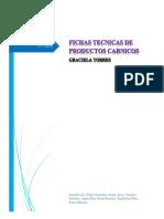 FICHA TECNICA DE PRODUCTOS CARNICOS.