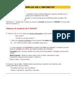 Emploi de l'infinitf.doc