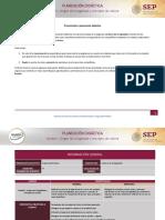 Planeación didática U1