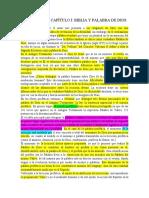RESUMEN DEL CAPÍTULO I BIBLIA Y PALABRA DE DIOS.docx