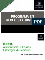 Administración y Gestión Estratégica de Personas  1