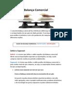 Balança Comercial.docx
