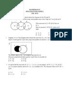 CH3-SETS PAPER 1