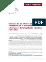 Incidencia Informes Sectoriales CyTeT n 201 Otoño 2019