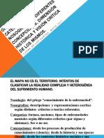 ORDENAMIENTOS CATEGORIALES Y NOSOGRÁFICOS