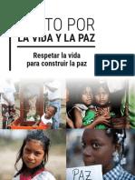 Pacto Por La Vida y La Paz Lanzamiento 10 Septiembre