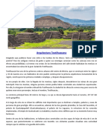 Arquitectura Teotihuacana