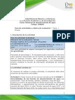 Guia de actividades y rubrica de evaluacion - Tarea 1 - Ensayo .pdf