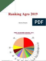 Ranking de Agro 2019