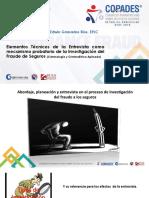 La Entrevista en la Investigación del Fraude a Seguros