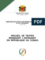 LOIS SUR l'ARTISANAT AU CONGO.pdf