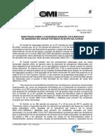 MSC.1-Circ.1578 - Directrices Sobre La Seguridad Durante Los EjerciciosDe Abandono Del Buque Por Medio De Bo... (Secretaría)
