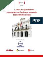 Resumo Executivo do Estudo Sobre a Seguridade da Información e e-Confianza no Ámbito das Entidades Locaies