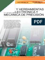 BAHCO 091 Pinzas y heramientas para electrónica y mecánica de precisión