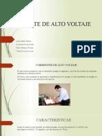 CORRIENTE DE ALTO VOLTAJE new