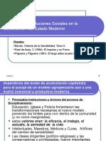 Instituciones Uruguay Moderno. Barran y reformas.