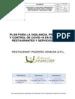 PLAN COVID-19 RESTAURANT PIZZERIA VENEZIA.pdf