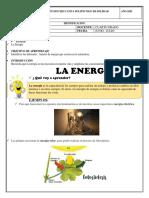 LA ENERGIA Y FUENTES DE ENERGÍA