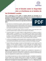 Reseña del Estudio sobre la Seguridad de la Información y eConfianza en el ámbito de las Entidades Locales