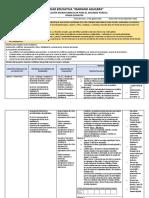 Planificación 9° EGB proyecto 1-3