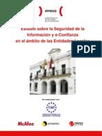 Estudio sobre la Seguridad de la Información y eConfianza en el ámbito de las Entidades Locales