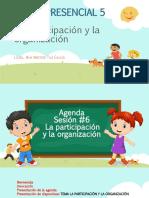 La participación y la organización